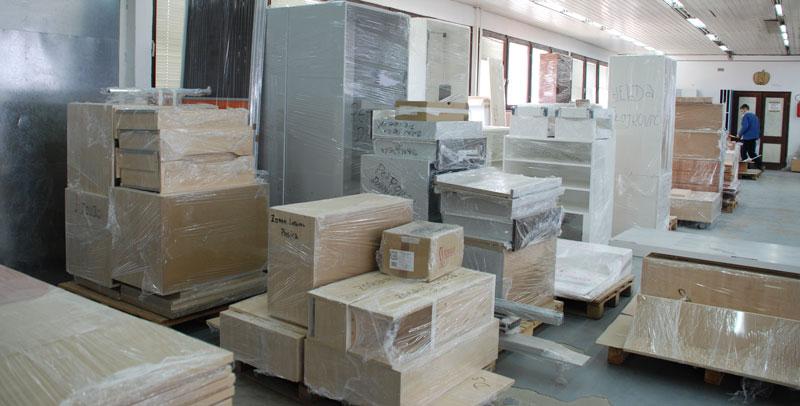 Skladište proizvoda spremnih za isporuku